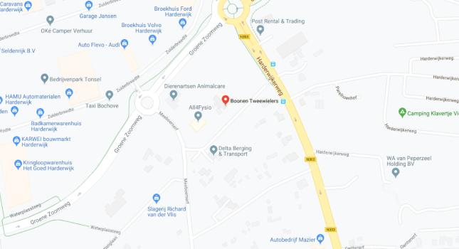 Google Maps Boonentweewielers
